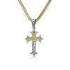 Stainless Steel Crucifix Iron Cross Pendant