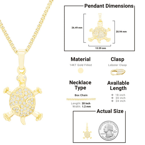 Pendant Box Chain Set