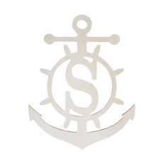 Wood Anchor Monogram