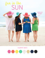 Hats Coral Floppy Hat