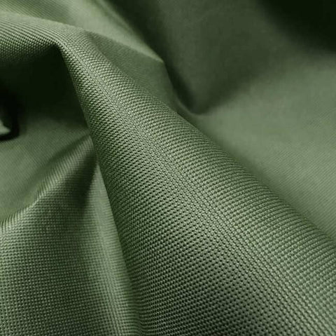 Olive Green Heavy Duty Waterproof Canvas Fabric 600D Outdoor Cover Sold By Metre