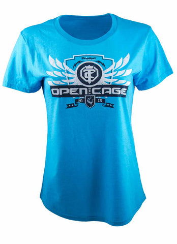 Open The Cage - Ladies' High Noon Tee Shirt