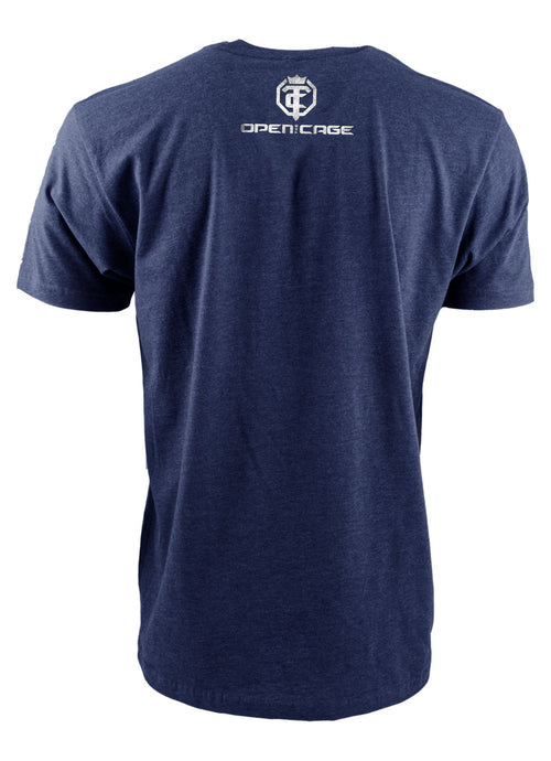 Open The Cage - Reign Midnight Blue Men's Tee