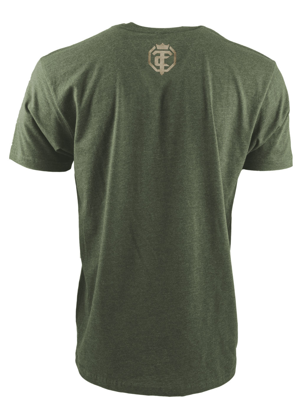Open The Cage - Woodland Military Green Men's Tee