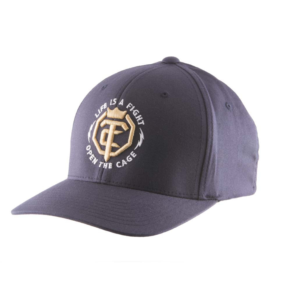 OTC Navy Gold Flex Fit Hat