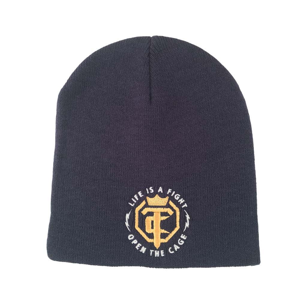 OTC Knit Beanie Navy Blue With Penny - White OTC Logo – Open The ... ced03c744f5
