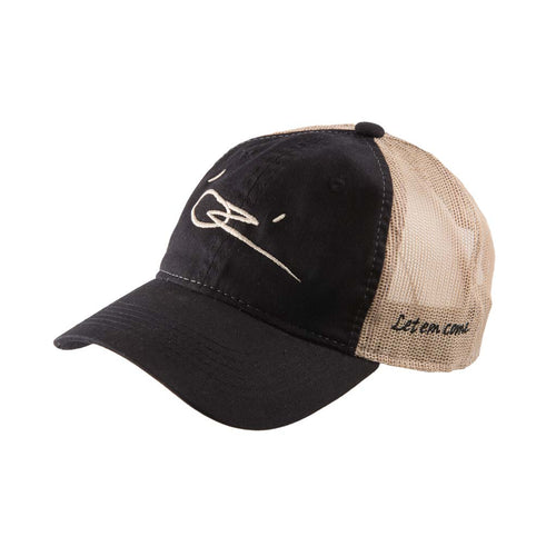 OTC OZ - Let Em Come - Black Trucker Mesh Flex Fit Hat