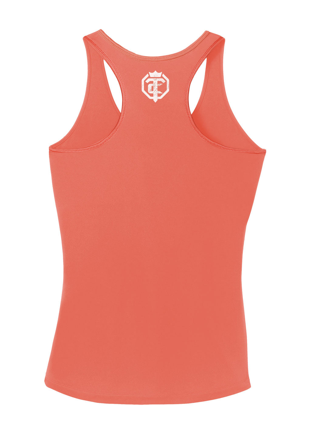 Open The Cage - Soar - Light Orange Women's Racer Back Tank