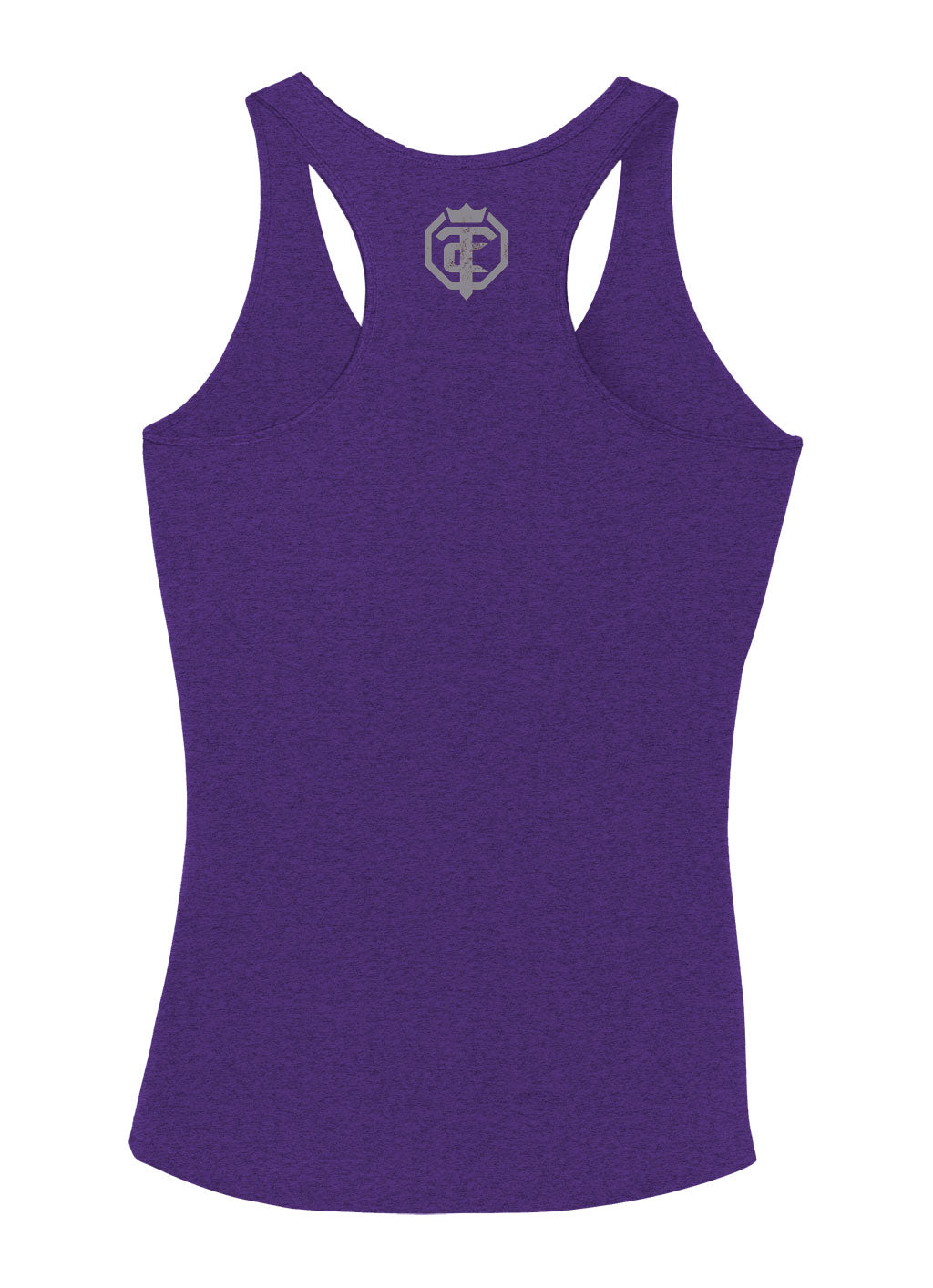 Open The Cage - Soar - Purple Women's Racer Back Tank