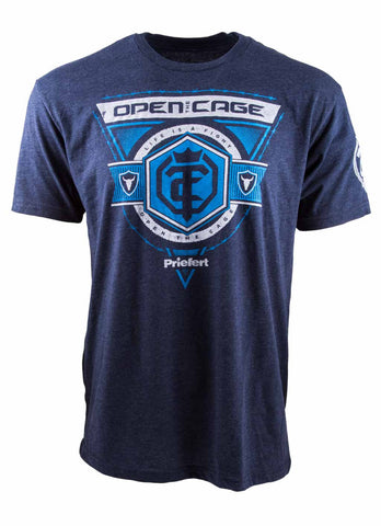 Open The Cage - Men's Mission Tee - Black