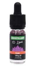 CBDistillery eliquid full spectrum high strength Hemp Botanics Portobello Road