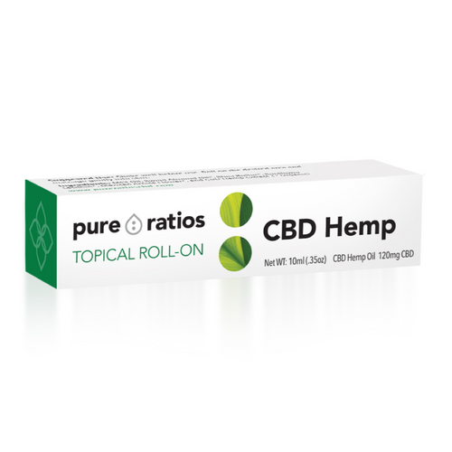 Aromatherapy infused CBD Roll-On 120mg