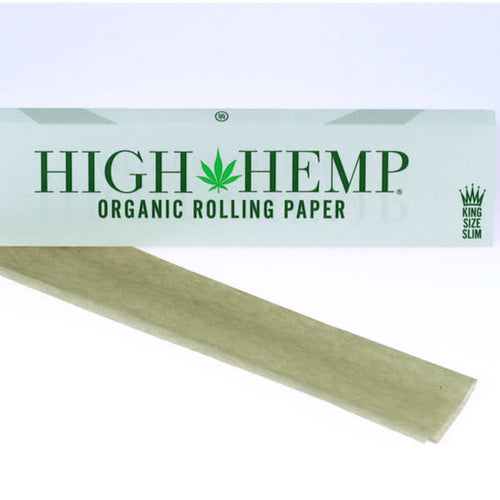High Hemp Organic Rolling Paper - King Size Slim