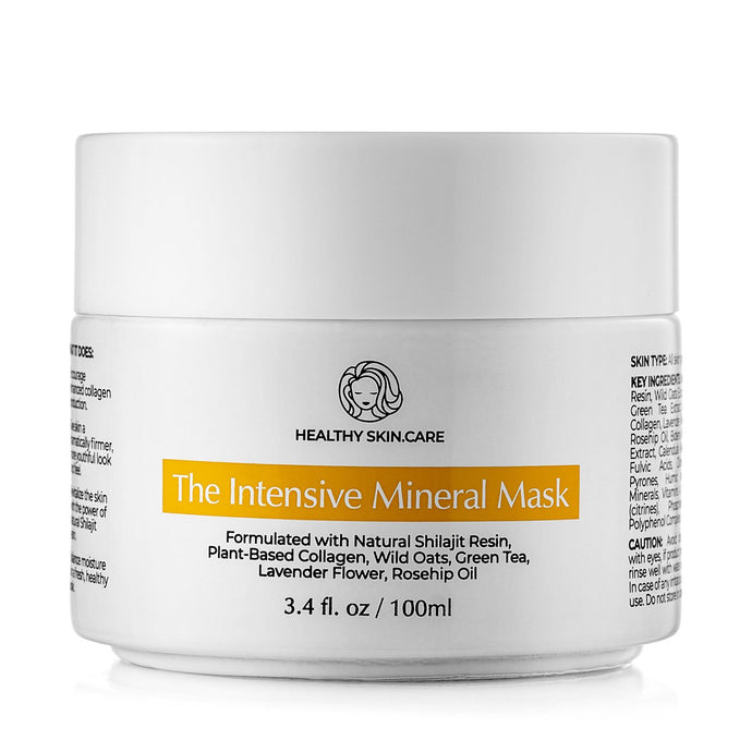 The Intensive Mineral Mask - Hemp Botanics