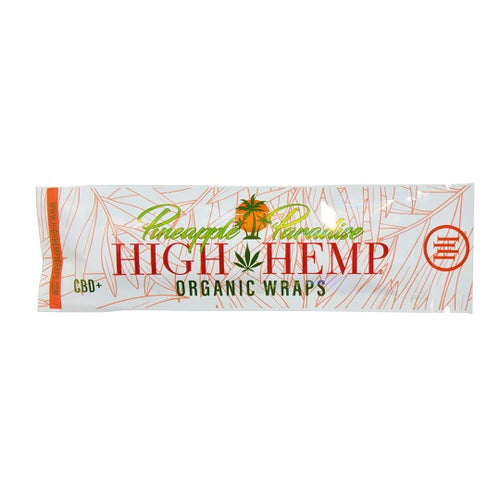 Organic Hemp CBD Wraps - Pineapple Paradise
