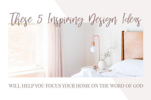 5 inspiring Design Ideas
