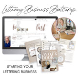 Imperfect Dust | Lettering Business Bootcamp