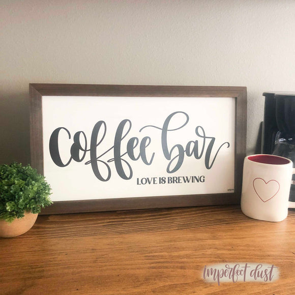 Coffee Bar Love is Brewing
