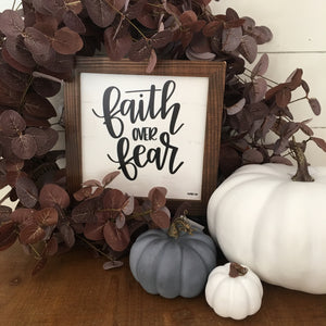 Faith Over Fear Mini
