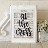 At the Cross | Hymn Sign | Christian Gifts