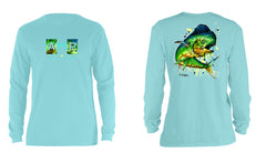 AMP Cotton Long Sleeve - Dolphin