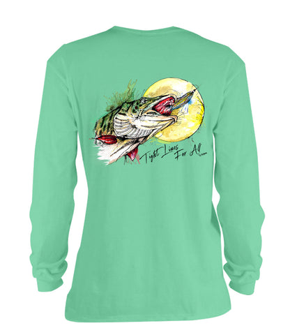 AMP Cotton Long Sleeve - Muskie Moonrise