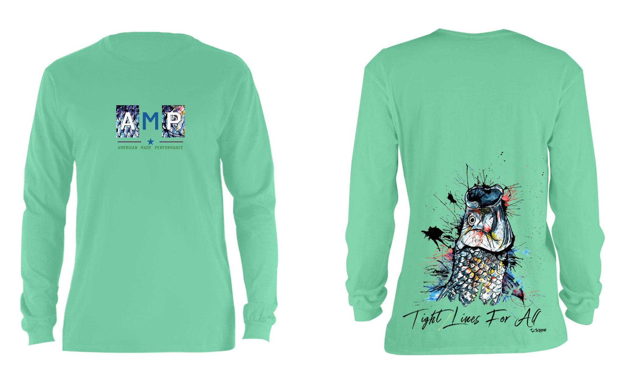 AMP Cotton Long Sleeve - Tarpon Rise