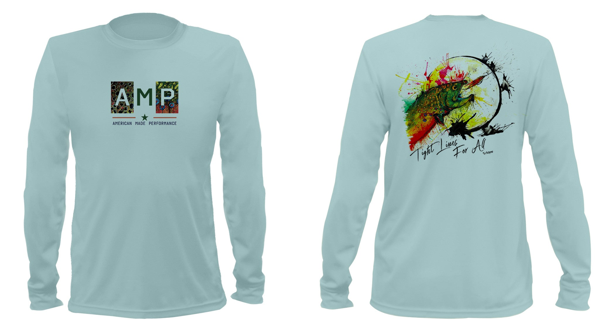 AMP Performance Long Sleeve - Brookie Moon