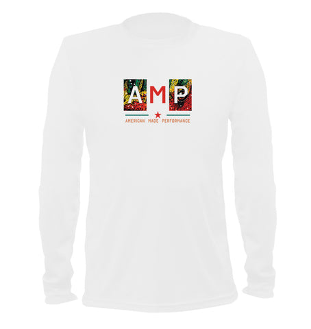 AMP Performance Long Sleeve - Largemouth Bass