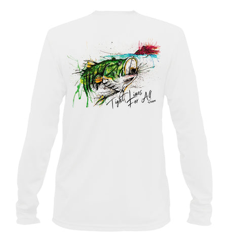 AMP Youth Performance Long Sleeve - Largemouth Bass