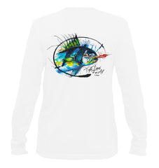 AMP Performance Long Sleeve - Roosterfish