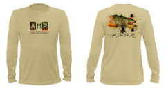 AMP Performance Long Sleeve - Brown Trout