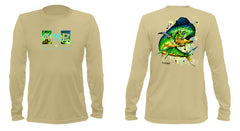 AMP Performance Long Sleeve - Dolphin