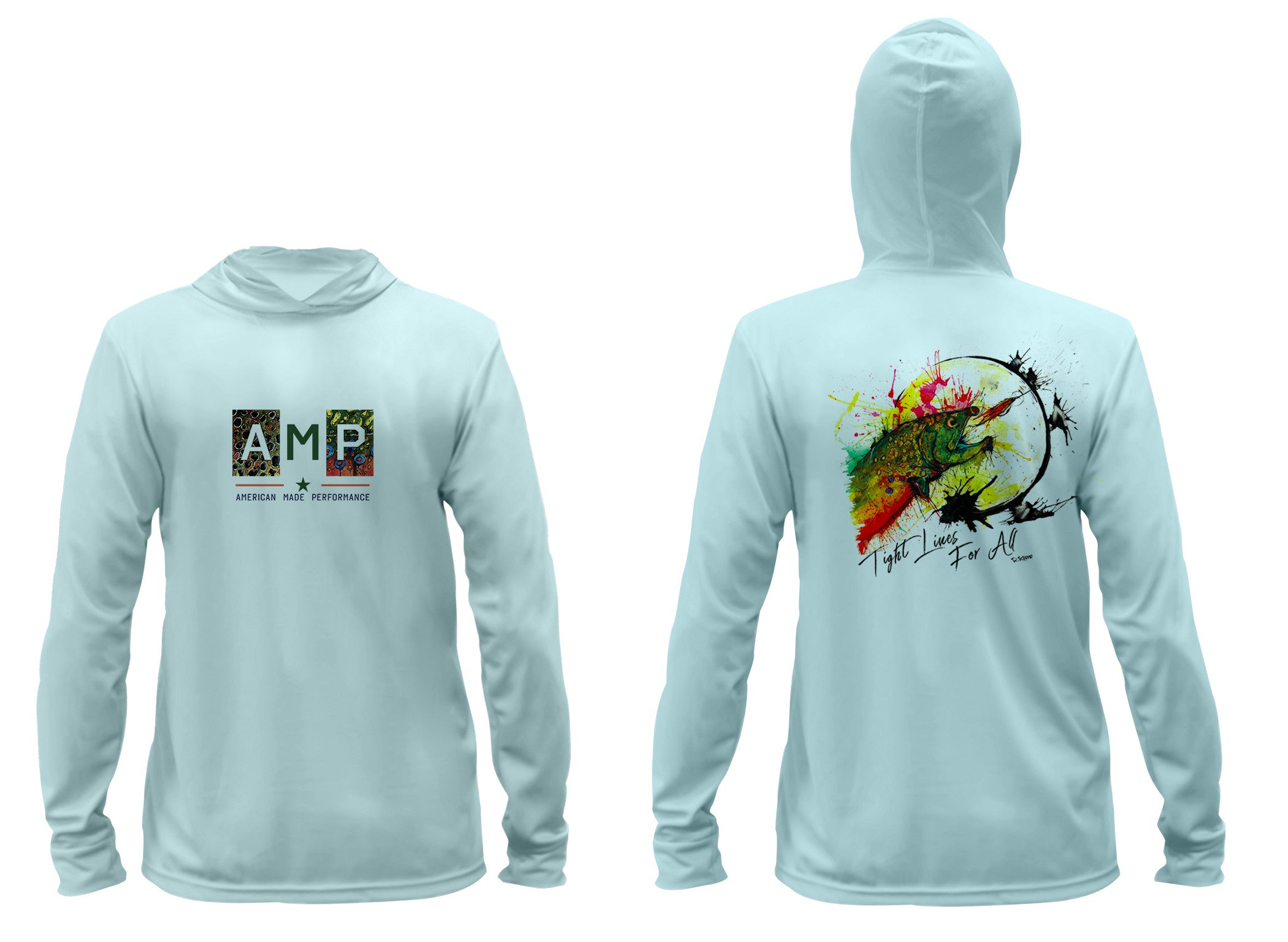 AMP Performance Hoodie - Brookie Moon