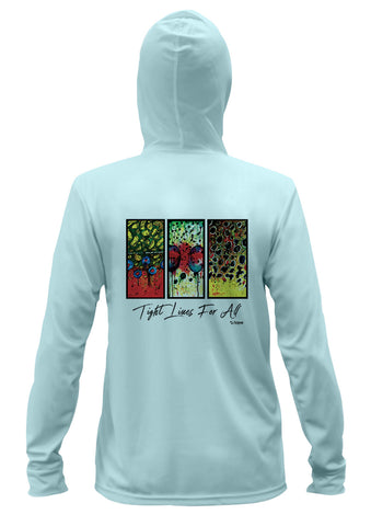 AMP Performance Hoodie - Trout Trio Flank