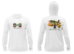 AMP Performance Hoodie - Brown Trout