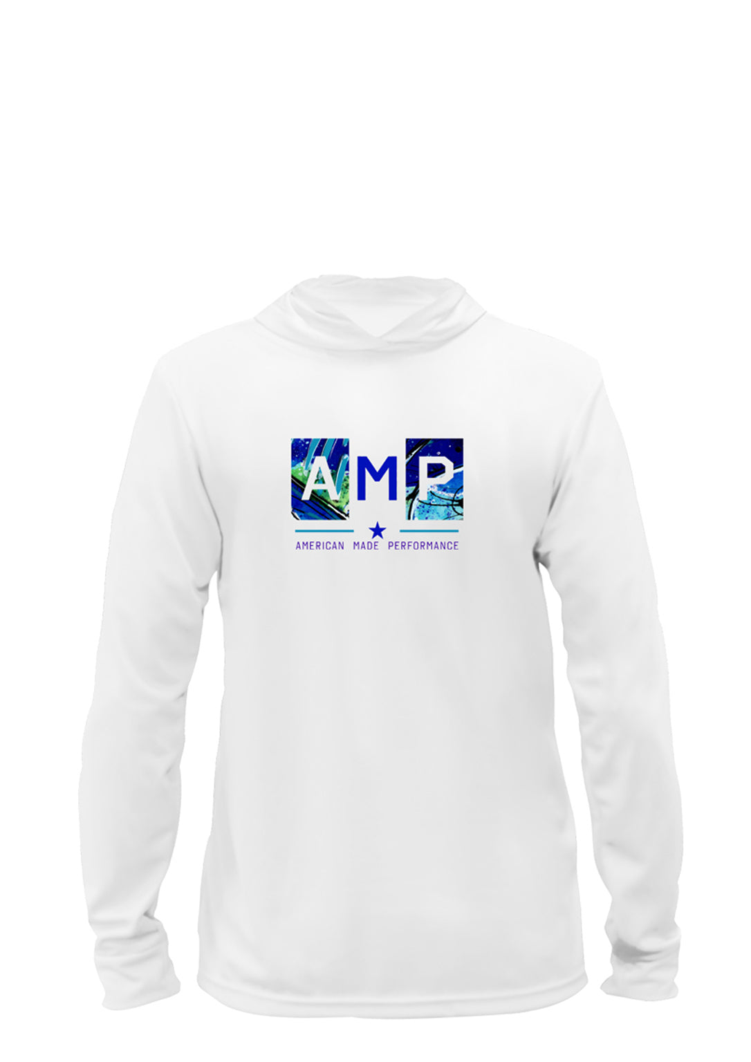 AMP Performance Hoodie - Blue Marlin