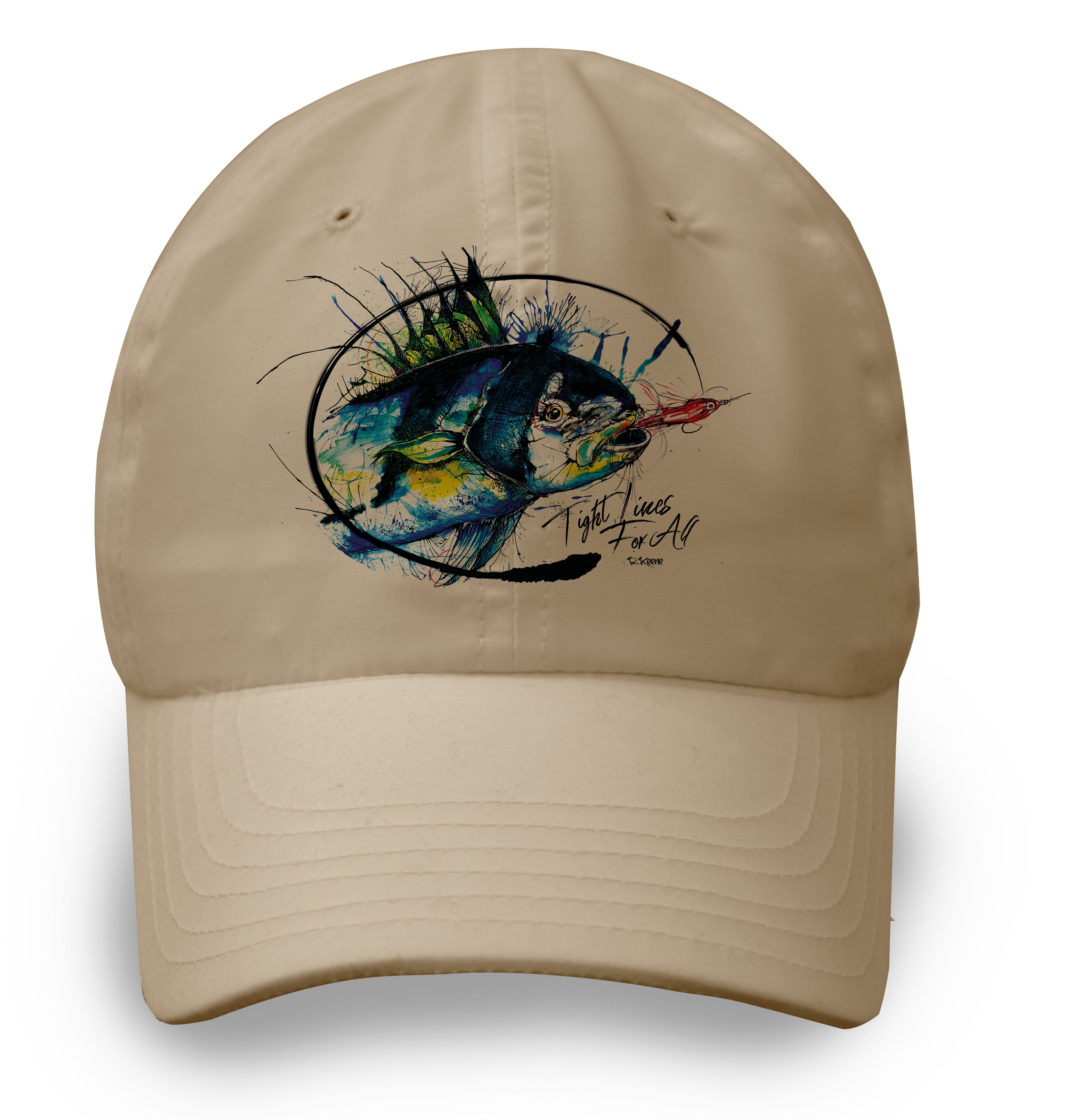 AMP Lite Hat - Rooster Fish