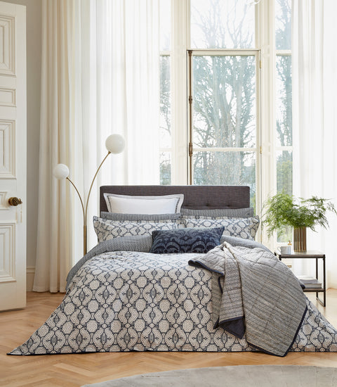 Bedeck of Belfast Kateri Midnight Bedding