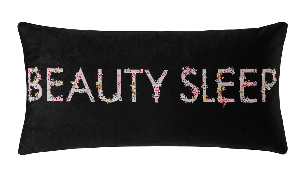 Ted Baker Beauty Sleep Liquorice 30cm x 60cm Polyester Filled Cushion