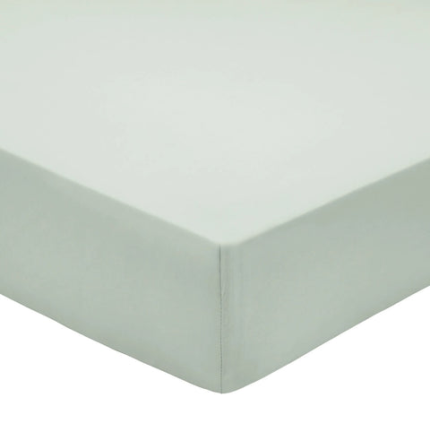 Bedeck of Belfast 100% Pima Cotton Percale 200 Thread Count Sage Sheets