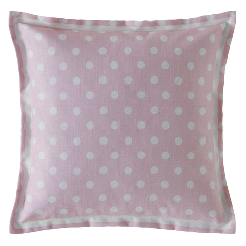 Cath Kidston Button Spot Blush 40cm x 40cm Polyester Filled Cushion