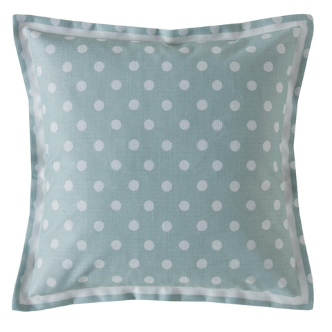 Cath Kidston Button Spot Mint 40cm x 40cm Polyester Filled Cushion