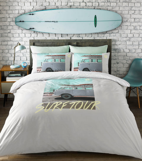 VW Coast Surfer Duvet Set