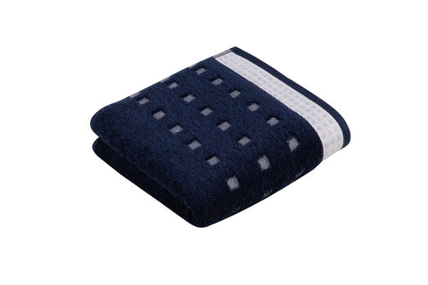 Vossen Country Feeling 493 Marine Blau 100% Cotton Towels
