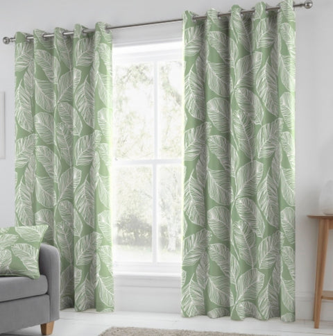 Fusion Matteo Eyelet Curtains