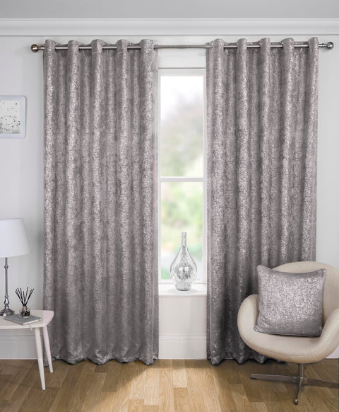 Tyrone Halo Blockout Eyelet Curtains (ORDER ONLY)