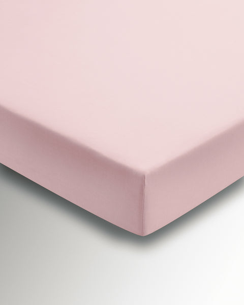 Helena Springfield Poly/Cotton Percale 180 Thread Count Blush Sheets