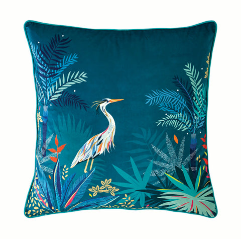 Sara Miller Heron 50cm x 50cm Feather Filled Cushion