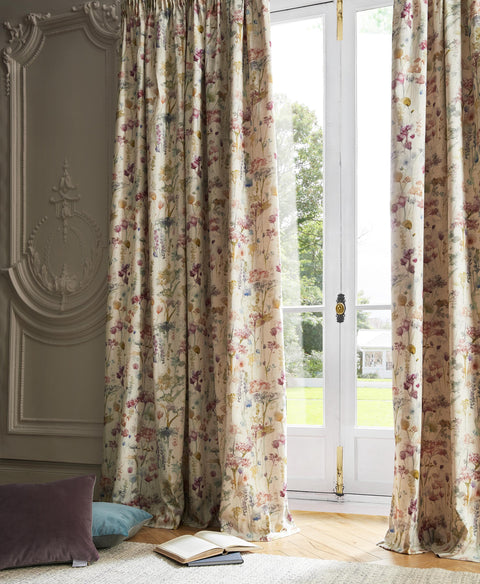 Voyage Ilinizas Poppy Lined Curtains (ORDER ONLY)